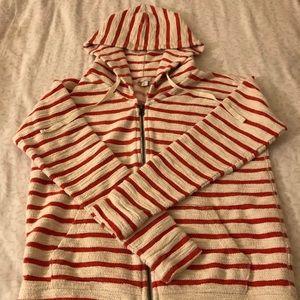 Gap Striped, zip hoodie